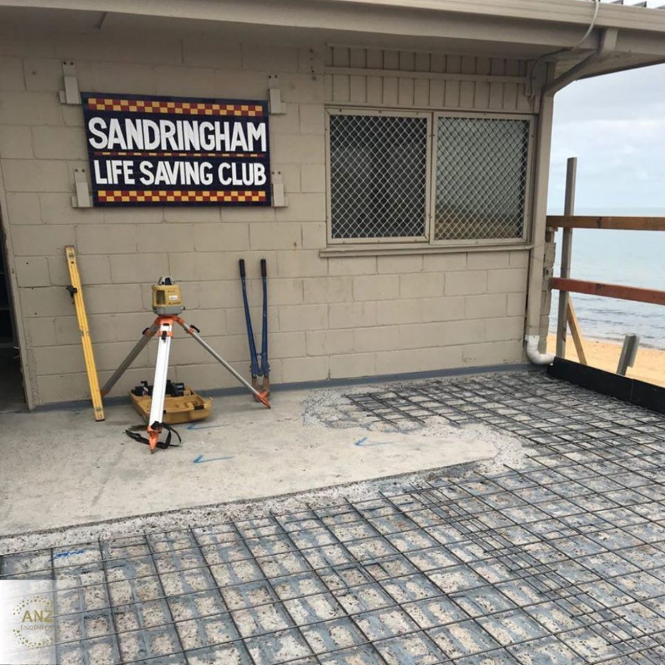 Sandringham Life Saving Club Victoria : Remedial Solution for Concrete Cancer